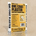 one coat plaster